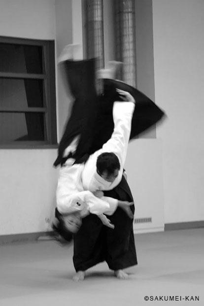 Démontration de Kobayashi Yukimitsu Shihan au stage de l'Aikido Club de reichstett